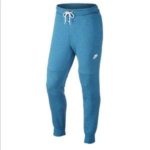 Nike tech fleece joggers sky blue size M,L,XL